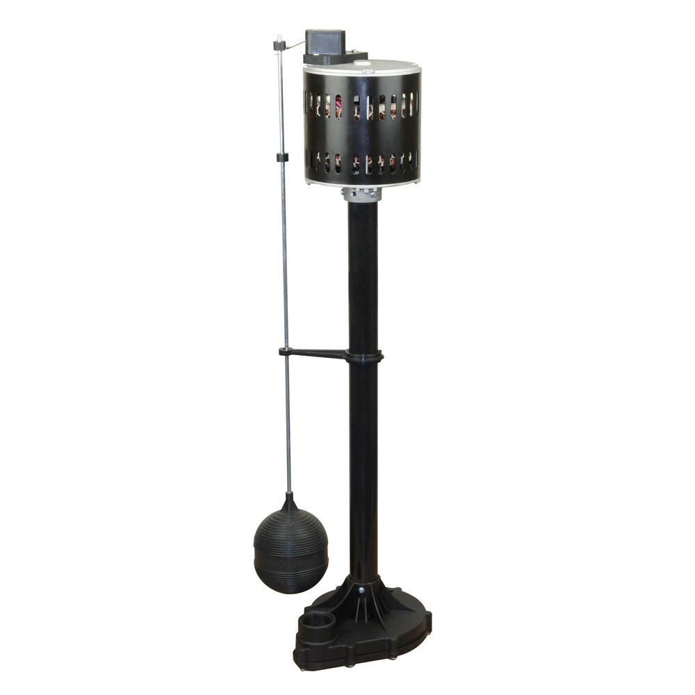 Everbilt 1-3 HP Pedestal Sump Pump