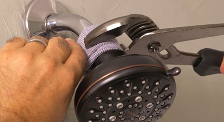 replacing shower head