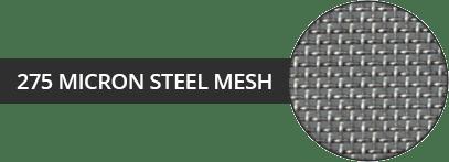 micron mesh steel
