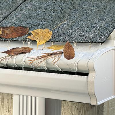 Leaf Guard Gutter Never Clog