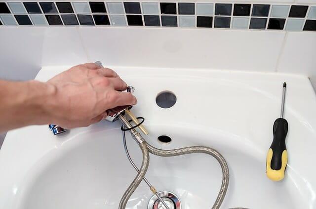 fixing sink