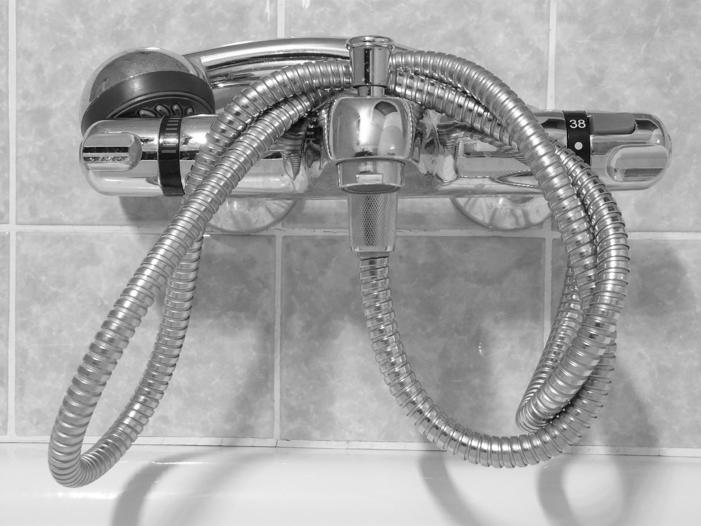 shower cartridge and handle