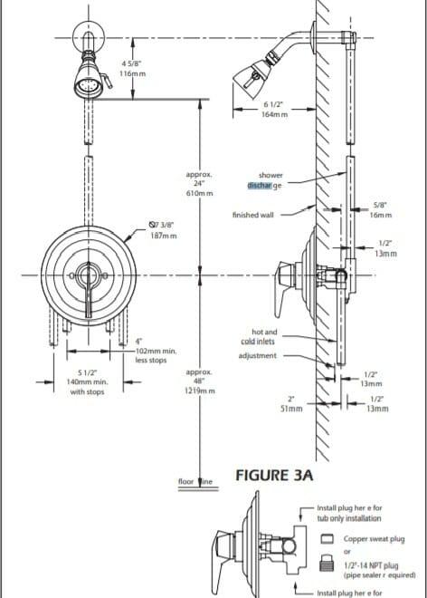 shower system diagram