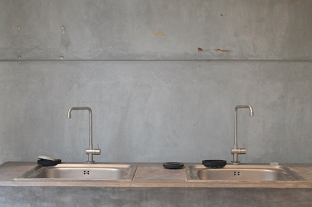 washing area