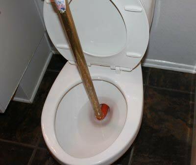 clog toilet