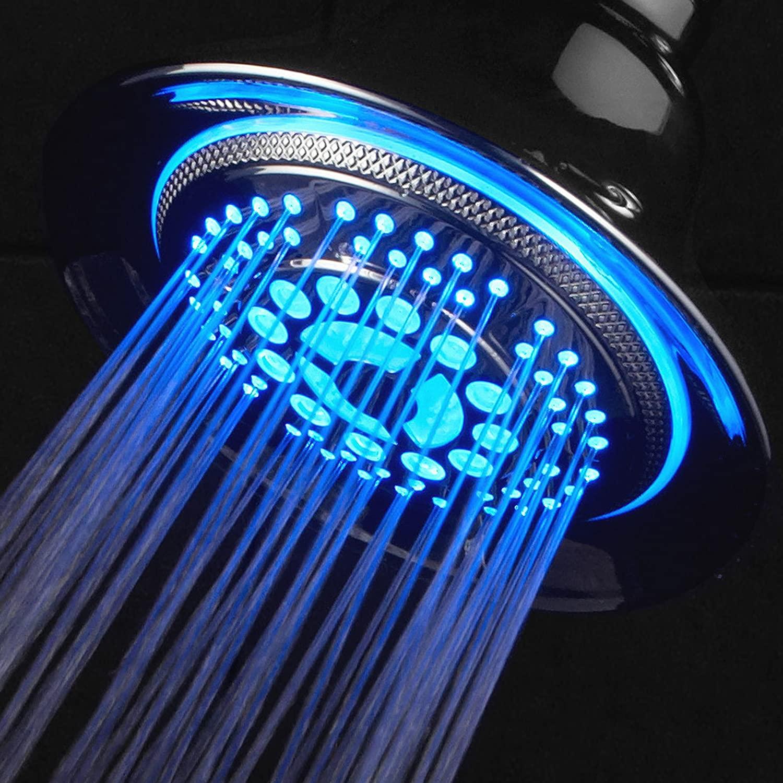 Blue LED Shower Head